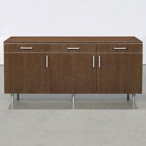 Modern credenza cabinet modern office cabinet for Modern office credenza
