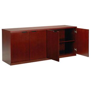 Office Cabinet, 4 Door Credenza