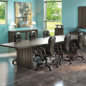 Foot Foot Modern Conference Table Boat Shaped Meeting Table - 16 foot conference room table