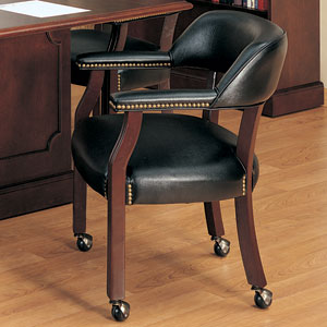Merveilleux Traditional Conference Chairs With Casters