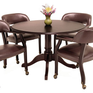 Round Conference Table And Chairs OfficePopecom - Round conference table for 4