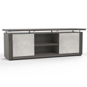 Modern Credenza Cabinet, Designer Office Credenza