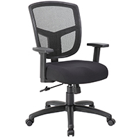 Modern Mesh Back Chairs, Mid Back Office Chair