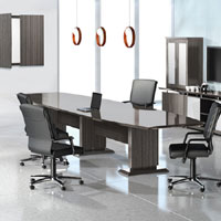 8 foot - 16 foot Modern Designer Conference Room Table