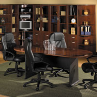 7ft Conference Table and 4 Chairs - Conference Room Table Set