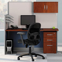 Modern Cubicle Workstation, Office Workstation with Panels