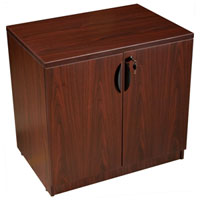 "Small Office Cabinet, Modular Credenza, 31""W"
