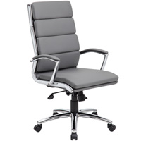 Modern Executive Grey High Back Conference Chair