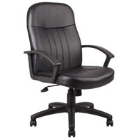 Conference Room Chairs, Black Leather Office Chairs