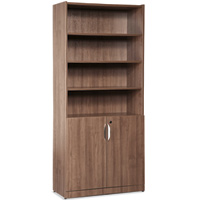 Wooden Office Bookcases with Doors