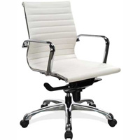 Modern White Conference Room Chairs, Designer Office Chairs
