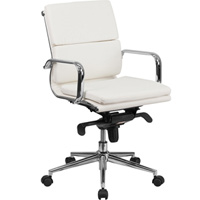Modern Designer Office Chair, Mid Back Chair