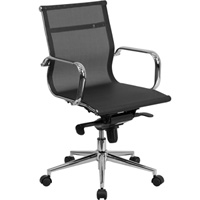 Modern Mesh Mid Back Office Chair