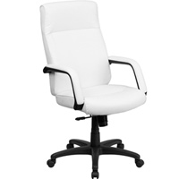 Modern High Back Memory Foam Leather Office Chair
