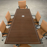 6' - 24' Designer Conference Table, Modern Conference Room Table