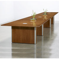 6ft - 24ft Modern Conference Table, 16ft Designer Conference Table