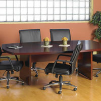 6ft - 12ft Conference Table - Cherry or Maple Wood