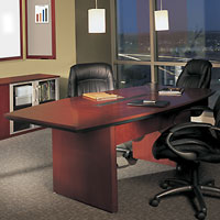 6' - 30' Large Conference Room Table, Boardroom Table