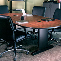 6' - 10' Conference Room Table w Optional Power Data Modules