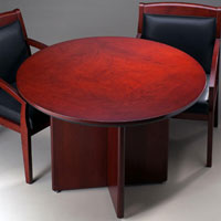 Round Conference Table, Round Office Meeting Table