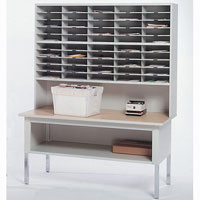 Office Mail Sorter, Office Mailroom Station Organizer