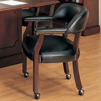 Traditional Conference Chairs with Casters