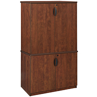 """65""""H Office Storage Cabinet, Modular and Stackable"""