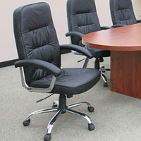 Leather Conference Chairs, High Back Chairs