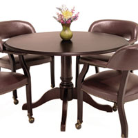 Round Conference Table, Traditional Table