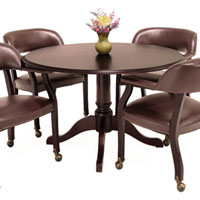 Round Conference Table And 4 Chairs