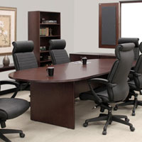 6ft - 12ft Conference Room Table, 8 ft Boardroom Table