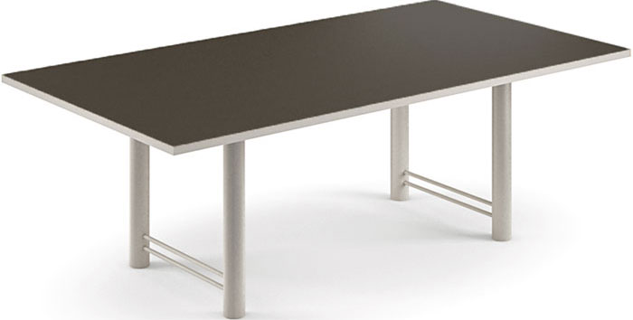 6ft - 18ft Modern Conference Table, Black Conference Table ...