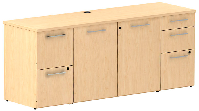 Modern Office Credenza Filing Sideboard Cabinet Conference