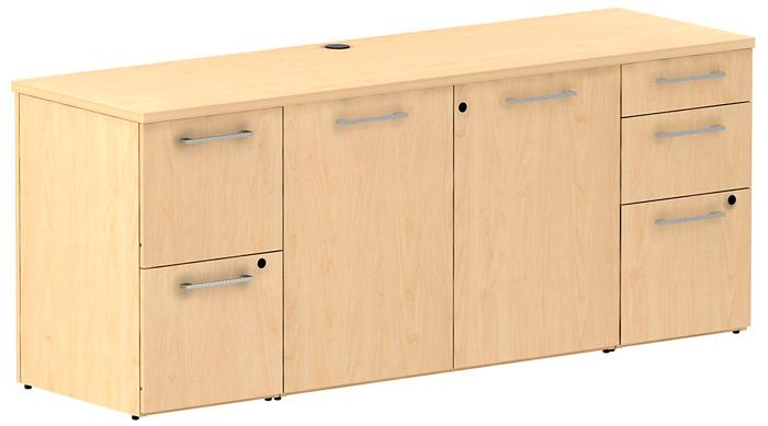 Modern Office Credenza Filing Sideboard Cabinet Conference