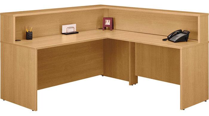 Modern Reception Desk L Shaped Receptionist Station