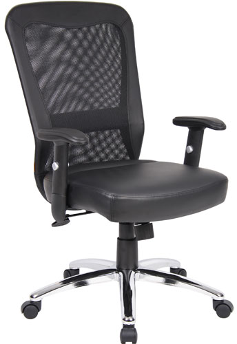 CONFERENCE ROOM CHAIRS Modern Mesh High Back Chrome Base Contemporary Office