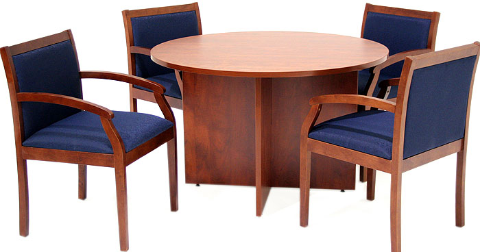 round conference table round meeting table. Black Bedroom Furniture Sets. Home Design Ideas