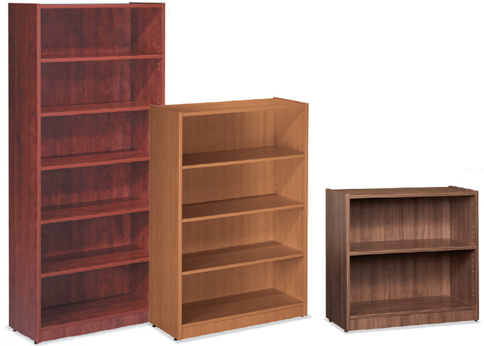 OFFICE WOODEN BOOKCASE WITH DOORS Wood Modular Modern ...