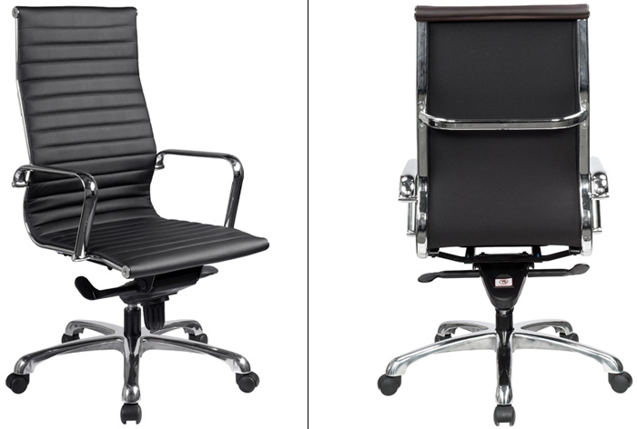 Modern White Conference Room Chairs High Back Office