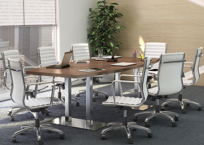 8ft 26ft Modern Conference Boardroom Table With Metal