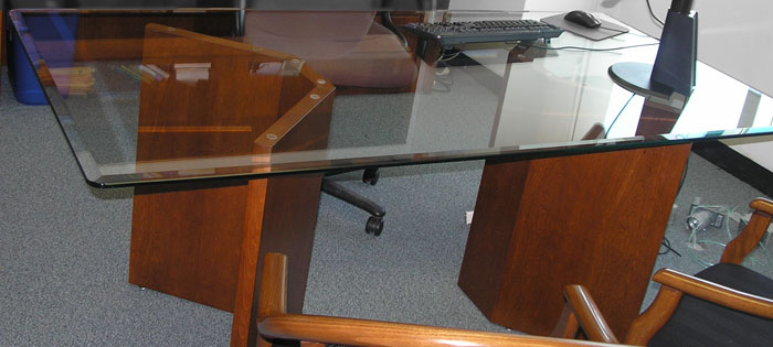 Ft Ft Glass Conference Table Glass Meeting Table For Office - 5 ft conference table