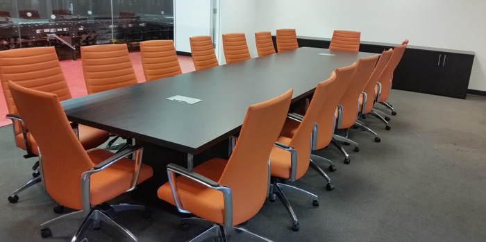 Espresso modern conference room table 16 foot or 7 8 10 12 for 10 ft conference room table
