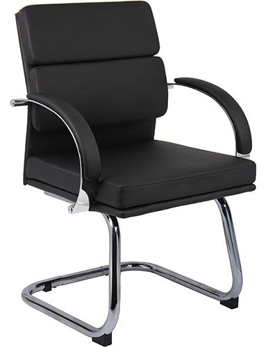 Modern Guest Chairs, Designer Black or White Office Chairs ...