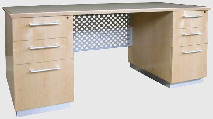 Modern Executive Desk With Metal Amp Wood Optional Credenza