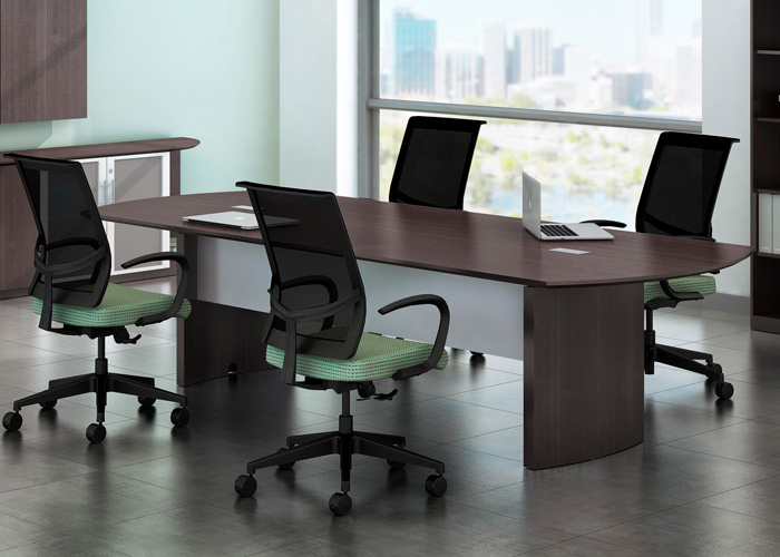 8 Foot 14 Foot Modern Conference Table Meeting Room Table