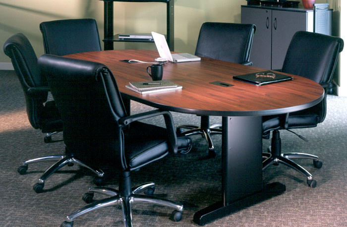 7ft conference room table and chairs set meeting contemporary office furniture. Black Bedroom Furniture Sets. Home Design Ideas
