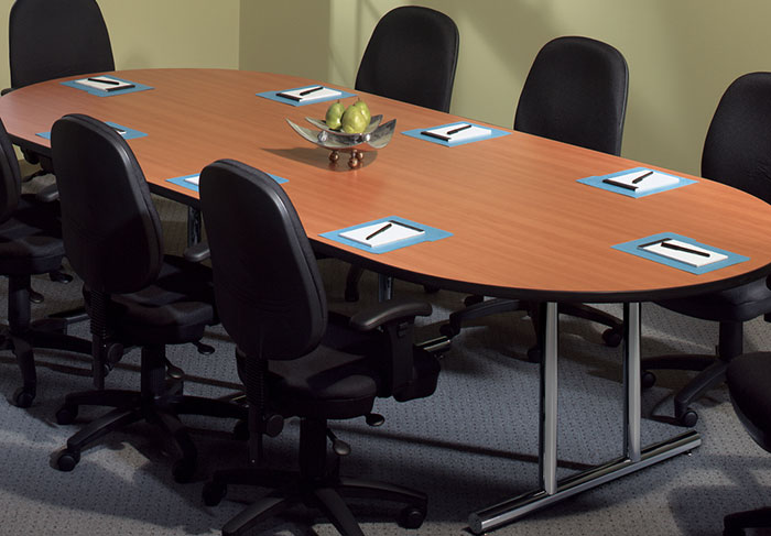 6 ft 10 ft conference room table with chairs set for 10 ft conference room table