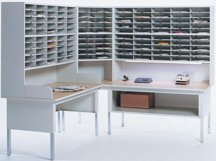 Mail Sorter Mailroom Station Furniture