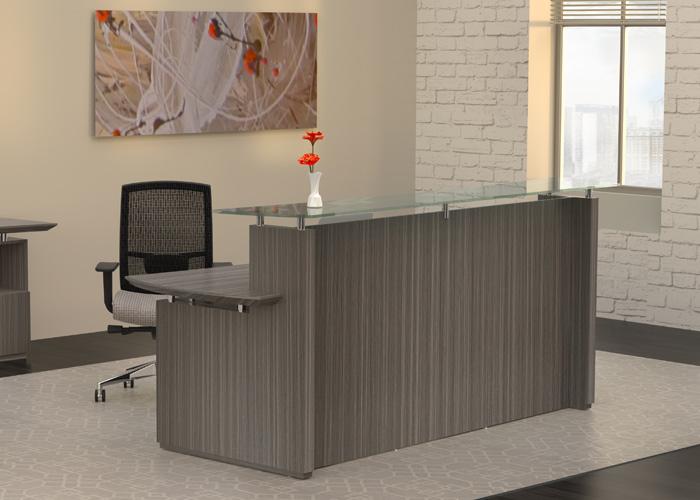 Modern Receptionist Station Waiting Room Reception Desk
