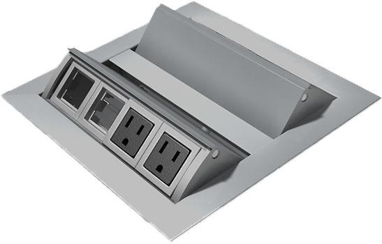Modern Conference Table Designer Conference Table - Conference table power module